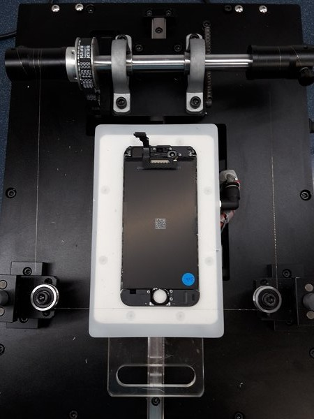 demontáž předního skla Apple iPhone 6