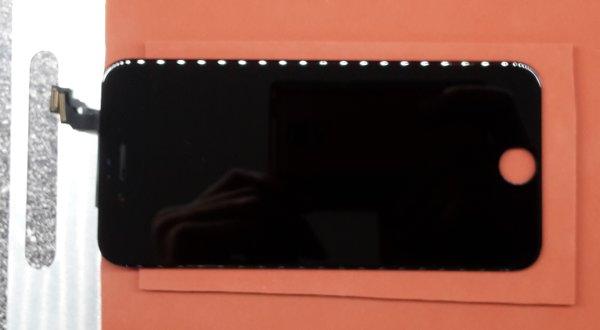 přilepené přední sklo Apple iPhone 6